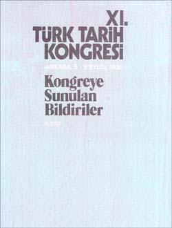 Türk Tarih Kongresi 11/5, 0