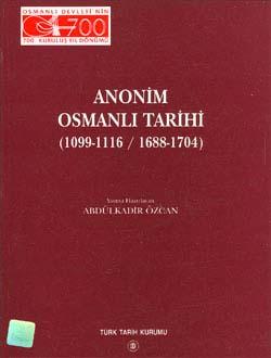 Anonim Osmanlı Tarihi (1099-1116 / 1688-1704), 2000