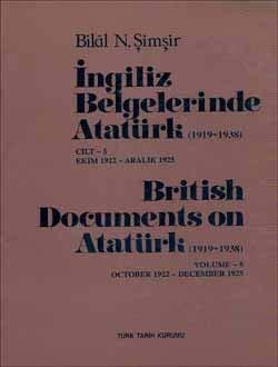 İngiliz Belgelerinde Atatürk - 5 British Document on Atatürk (1919-1938), 2005