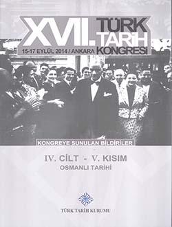 Türk Tarih Kongresi 17/4-5: Osmanlı Tarihi, 2018