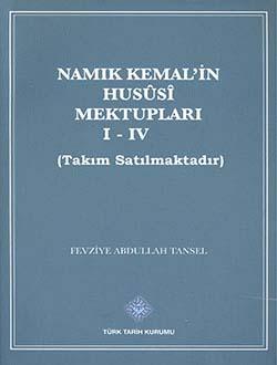 Namık Kemal`in Hususi Mektupları I-IV. Cilt (Takım Satılmaktadır), 2013