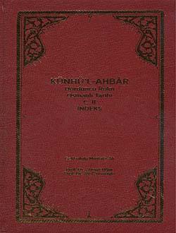 Künhü`l-Ahbar Dördüncü Rükn Osmanlı Tarihi C.II İndeks, Gelibolulu Mustafa Âli, 2014