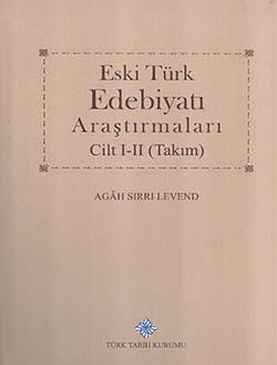 Eski Türk Edebiyatı Araştırmaları I-II (Takım), 2016