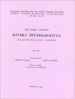 Kitab-i Diyarbakriyya - II, 1993
