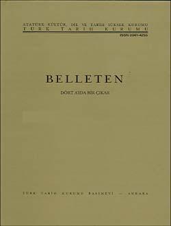 Belleten 250. Sayı, 2003