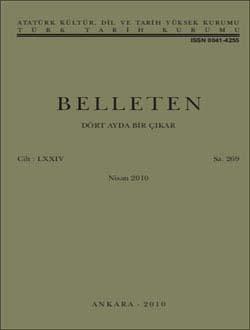 Belleten 269. Sayı, 2010