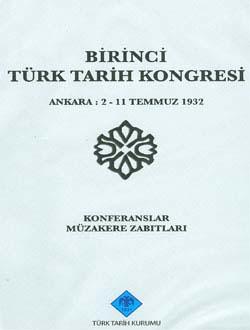 Türk Tarih Kongresi 01, 1932