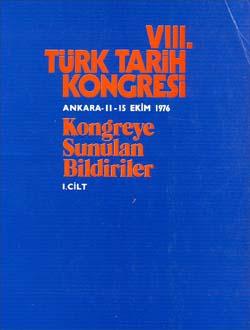 Türk Tarih Kongresi 8/1, 1979
