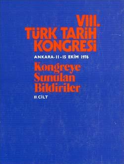 Türk Tarih Kongresi 8/2, 0