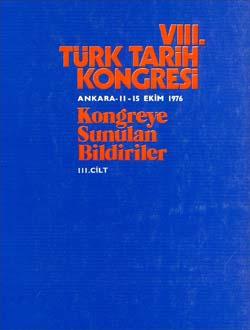 Türk Tarih Kongresi 8/3, 0