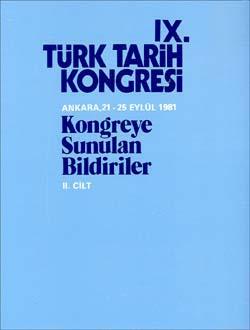 Türk Tarih Kongresi 9/2, 0