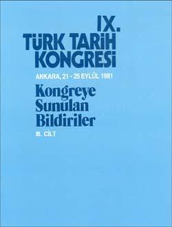 Türk Tarih Kongresi 9/3, 0