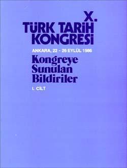 Türk Tarih Kongresi 10/1, 0