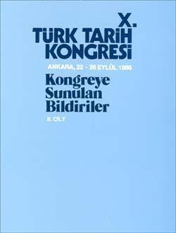 Türk Tarih Kongresi 10/2, 1990