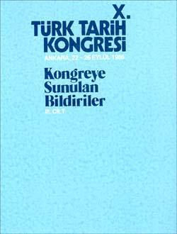 Türk Tarih Kongresi 10/3, 1993