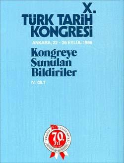 Türk Tarih Kongresi 10/4, 0