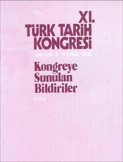 Türk Tarih Kongresi 11/2, 0