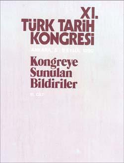 Türk Tarih Kongresi 11/3, 0