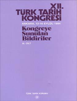 Türk Tarih Kongresi 12/3, 0