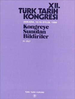 Türk Tarih Kongresi 12/4, 0