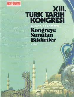 Türk Tarih Kongresi 13/1, 0