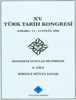 Türk Tarih Kongresi 15/6, 0