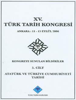 Türk Tarih Kongresi 15/5, 0