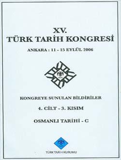 Türk Tarih Kongresi 15/4-3, 0