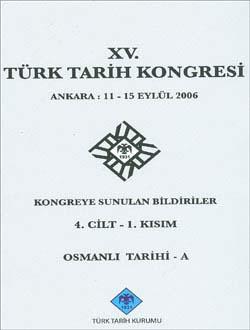 Türk Tarih Kongresi 15/4-1, 0