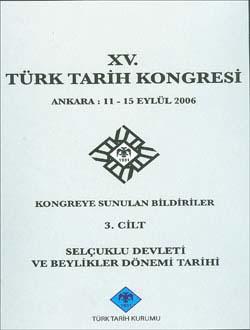 Türk Tarih Kongresi 15/3, 0