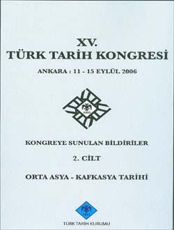 Türk Tarih Kongresi 15/2, 0