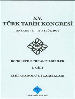 Türk Tarih Kongresi 15/1, 0