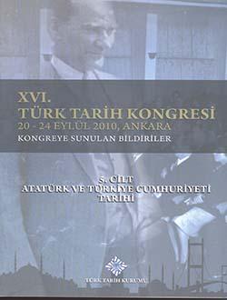 Türk Tarih Kongresi 16/ 5, 0