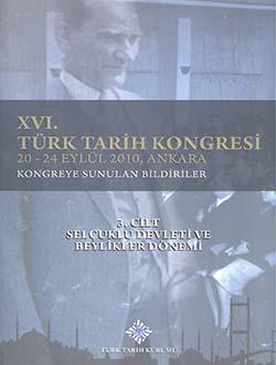 Türk Tarih Kongresi 16/3, 0