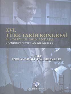Türk Tarih Kongresi 16/1, 0