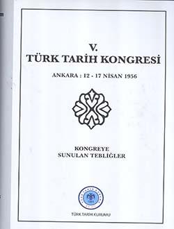 Türk Tarih Kongresi 05, 2011