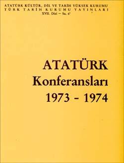 Atatürk Konferansları 6 (1973-1974), 1991