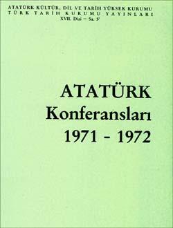Atatürk Konferansları 5 (1971-1972), 1991