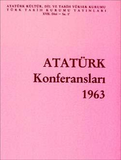 Atatürk Konferansları 1 (1963), 1991