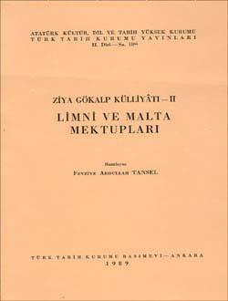 Ziya Gökalp Külliyâtı - II:  Limni ve Malta Mektupları, 1989
