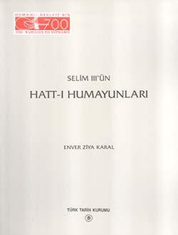 Selim III'ün Hatt-ı Humayunları, 1999