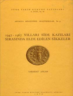 1947-1967 Yılları Side Kazıları Sırasında Elde Edilen Sikkeler. 1976, 1976