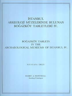 İstanbul Arkeoloji Müzelerinde Bulunan Boğazköy Tabletleri 4, 1988