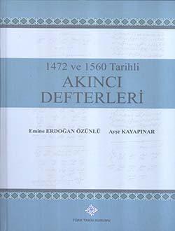 1472 ve 1560 Tarihli Akıncı Defterleri, 2017