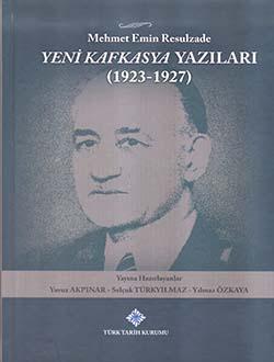 Yeni Kafkasya Yazıları (1923 - 1927), 2017