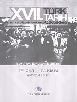 Türk Tarih Kongresi 17/4-4: Osmanlı Tarihi, 2018
