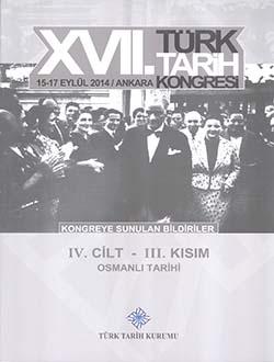 Türk Tarih Kongresi 17/4-3: Osmanlı Tarihi, 2018
