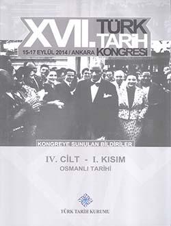 Türk Tarih Kongresi 17/4-1: Osmanlı Tarihi, 2018