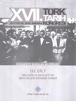 Türk Tarih Kongresi 17/3 : Osmanlı Tarihi, 2018