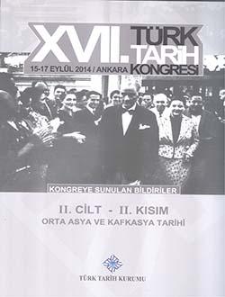 Türk Tarih Kongresi 17/2-2 :  Orta Asya ve Kafkasya Tarihi, 2018
